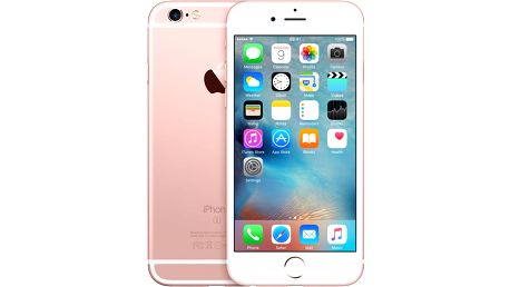Apple iPhone 6s 128GB, růžová/zlatá - MKQW2CN/A