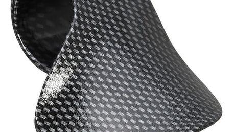 Grip zápěstí na řídítko s plynem pro motorkáře - karbonový vzor