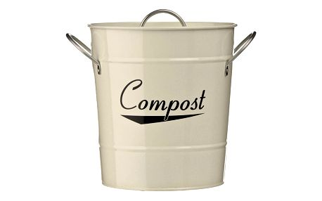 Krémový kompostér Premier Housewares Coronet