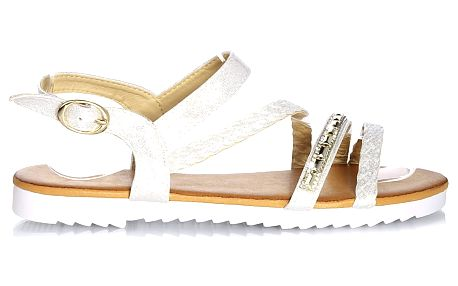 Time look Dámské sandály G33-3SI Velikost: 38 (24,5 cm)