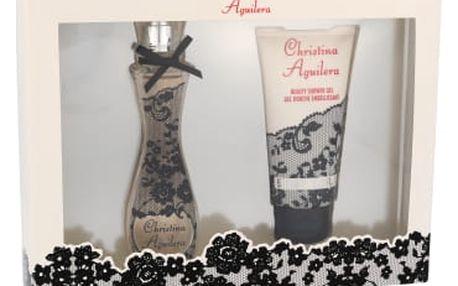 Christina Aguilera Christina Aguilera dárková kazeta pro ženy parfémovaná voda 30 ml + sprchový gel 50 ml