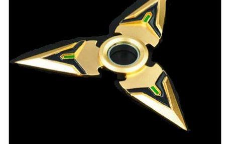 Fidget spinner imitující šuriken - varianta 1 - dodání do 2 dnů
