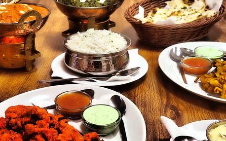 3chodové menu pro 2 od indického šéfkuchaře