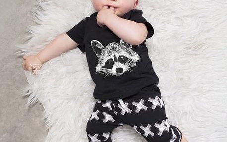 Dětská tepláková souprava - varianta K, 4-6 měsíců