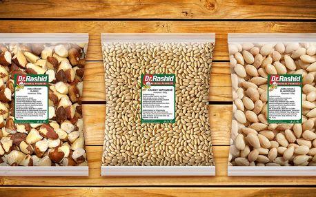 Ořechy a mandle na mlsání v práci i doma