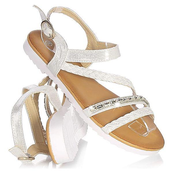 Time look Dámské sandály G33-3SI Velikost: 38 (24,5 cm)2