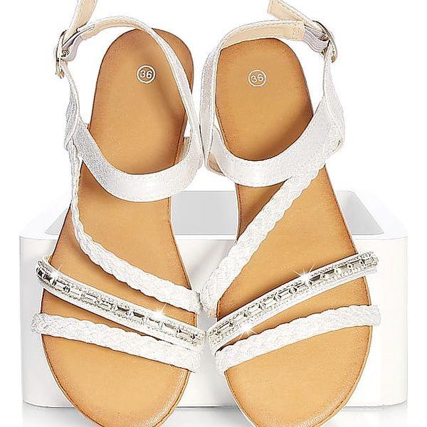 Time look Dámské sandály G33-3SI Velikost: 38 (24,5 cm)4