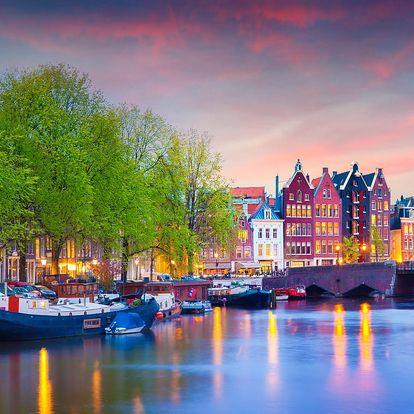 3denní letní zájezd do Amsterdamu pro 1 osobu