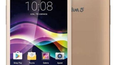 Mobilní telefon myPhone FUN 5 (TELMYAFUN5GO) zlatý