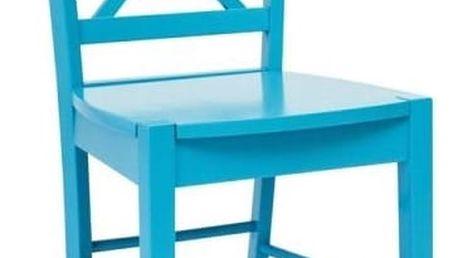 Modrá židle Signal Rachel - doprava zdarma!