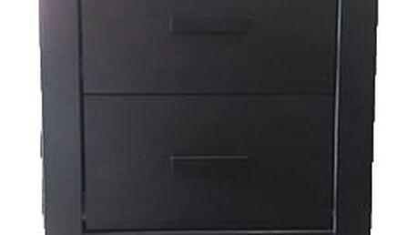 Noční stolek do ložnice WINCHESTER s šuplíky - dýha