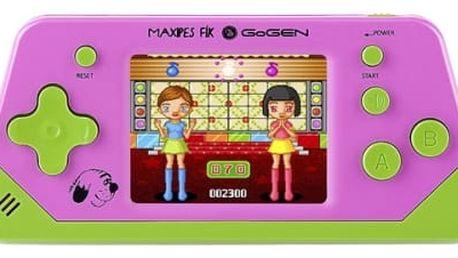 Herní konzole GoGEN Maxipes Fík MAXIHRY 80 P růžová