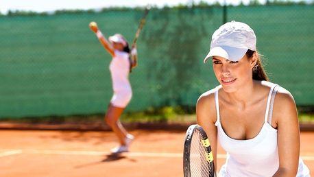 Pronájem kurtu nebo lekce tenisu s trenérem