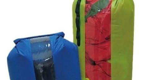 Nepromokavý vak Yate Dry Bag s oknem a ventilem, vel. L černý