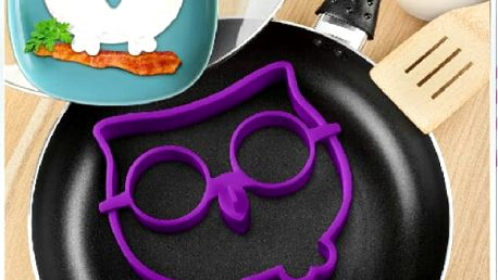 Forma na volská oka Sova pro opravdu netradiční snídani!
