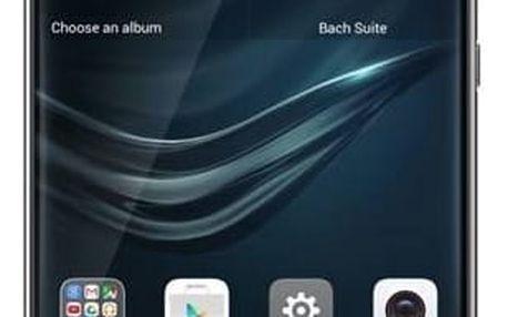Mobilní telefon Huawei P9 32 GB Dual SIM - šedý (SP-P9DSTOM) Power Bank Huawei AP08Q 10000mAh - černá (zdarma)Paměťová karta Samsung Micro SDHC EVO 32GB class 10 + adapter (zdarma)Software F-Secure SAFE 6 měsíců pro 3 zařízení (zdarma)SIM s kreditem T-Mob