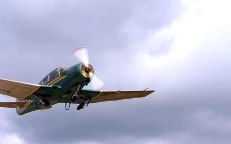 Vyhlídkové lety letadlem ve Středočeském kraji
