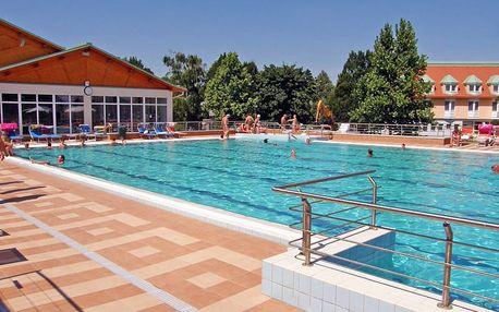 Relaxace v maďarských lázních Mosonmagyaróvár s neomezeným wellness a polopenzí