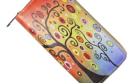 Dámská peněženka s ornamenty