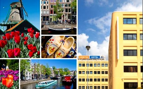 Pobyt v Amsterdamu pro dva se snídaní v hotelu. Až 2 děti do 17 let zdarma