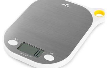 Kuchyňská váha ETA Grami 3777 90000 bílá/nerez