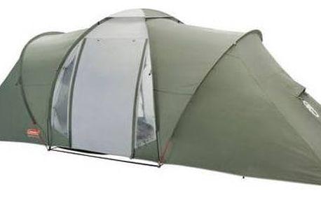 Stan Coleman RIDGELINE 6 PLUS (6 os., 12,2 kg, obytný prostor, dvě ložnice) Gril přenosný plynový Campingaz Party gril Stove (zdarma) + Doprava zdarma