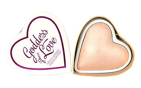 Makeup Revolution London I Love Makeup Goddess Of Faith Baked Highlighter 10g Make-up W Pro rozjasněnou pleť