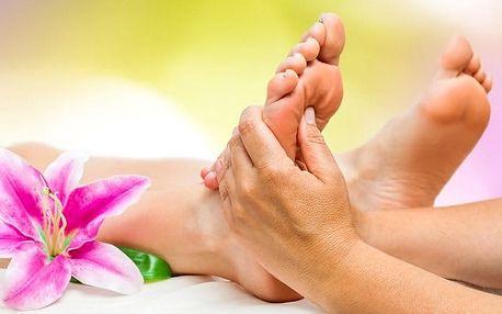 30–45minutová reflexní masáž chodidel ve Studiu Natali v Praze