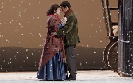 Vstupenka na operu Bohéma v městském divadle