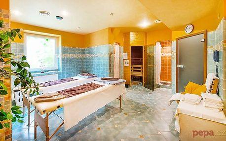 3–6denní wellness pobyt pro 2 s polopenzí v hotelu Haná*** v Mariánských Lázních