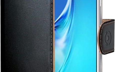CELLY Wally Pouzdro typu kniha pro Samsung Galaxy J5 (2016), PU kůže, černé - WALLY557