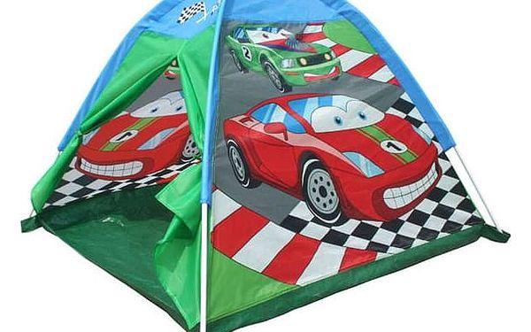 Stan dětský Acra ST09 s potiskem - auta červený/modrý/zelený2