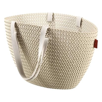 Krémová taška Curver