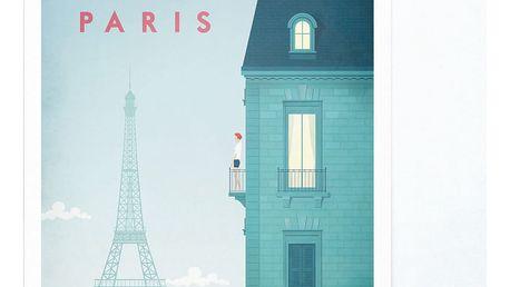 Plakát Travelposter Paris, A2