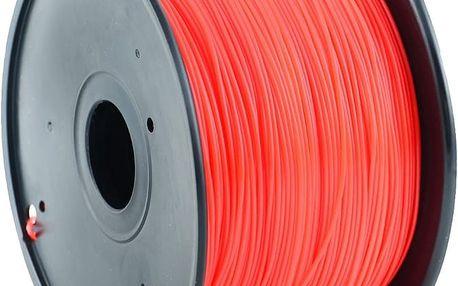 Gembird tisková struna (filament), PLA, 1,75mm, 1kg, červená - 3DP-PLA1.75-01-R