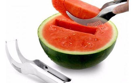 Speciální dvojitý nůž na porcování melounu - 4 varianty