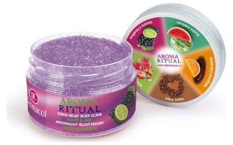 Dermacol Aroma Ritual Grape & Lime 200 g tělový peeling pro ženy