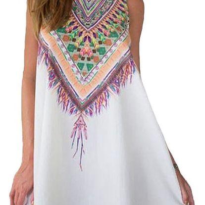 Dámské volné šaty ve čtyřech barvách