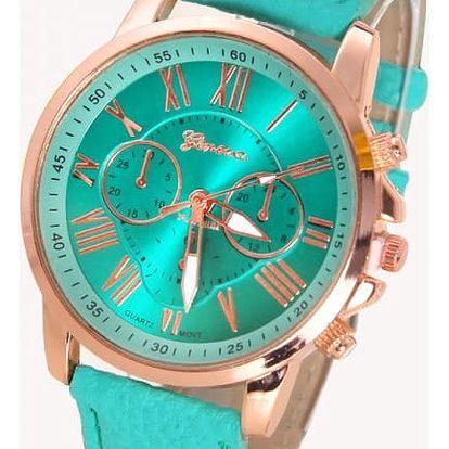 Náramkové hodinky v luxusním designu - 13 barev