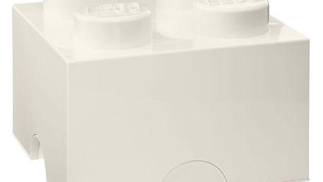 Bílá úložná kostka LEGO®