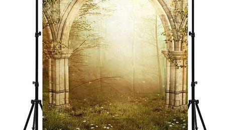Fotostěna s motivem antické zahrady - 210 x 150 cm