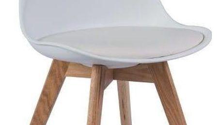 Bílá židle Signal Kris - doprava zdarma!