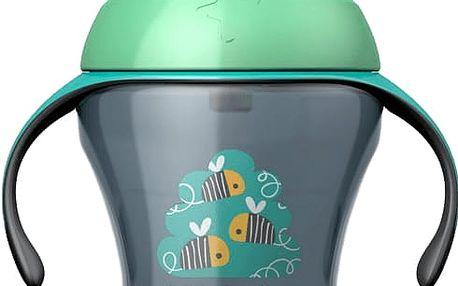 TOMMEE TIPPEE Netekoucí hrnek s brčkem Explora Easy Drink 6m+, 230ml-kluk