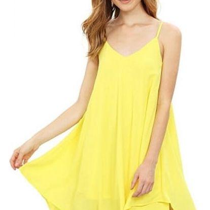 Šifonové šaty volného střihu - 6 barev