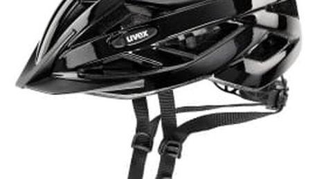 Uvex I-VO CC BLACK matt 2017 cyklistická přilba