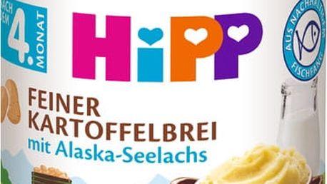 HIPP Jemná bezlepková bramborová kaše s aljašskou treskou, 190 g - maso-zeleninový příkrm