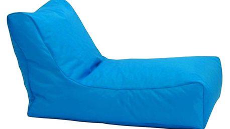 Sedací křeslo LOUNGE modré V2