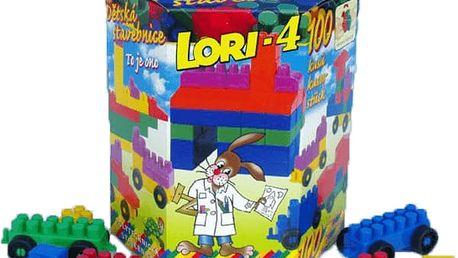 LORI Stavebnice LORI 4 - plast 100ks