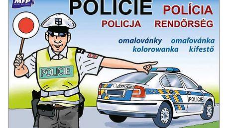 Omalovánky - Policie - dodání do 2 dnů