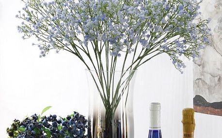 Umělá dekorativní květina Šater v různých barvách - 1 kus